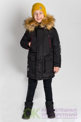 80549_BOB Куртка-парка для мальчика