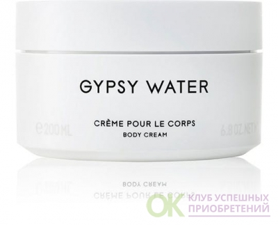 BYREDO PARFUMS GYPSY WATER unisex 200ml b/cream