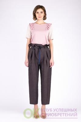 Блуза 711*9822 розовый