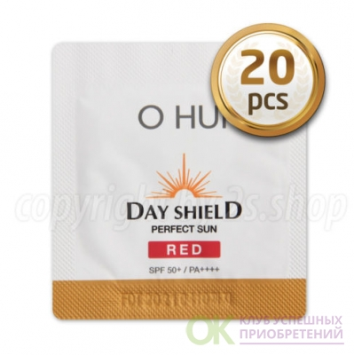 30pcs x OHUI Perfect Sun Pro Red SPF 50+,New darkening UV Protection