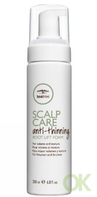 Paul Mitchell Tea Tree Scalp Care Anti Thinning Root Lift Foam 6.8 oz (200 мл.)