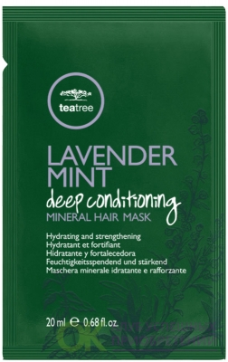 Paul Mitchell Tea Tree Lavender Mint Deep Conditioning Mineral Hair Mask .85 Ounce, (20 мл.) 1 шт.