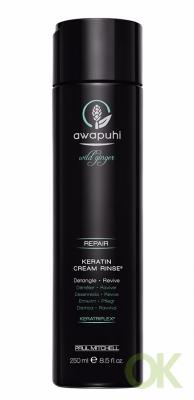 Awapuhi Wild Ginger Keratin Cream Rinse, 8.5 Ounce (250 мл.)