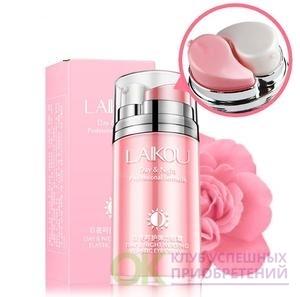 [LAIKOU]  Ночной и дневной крем для век Laikou Day and Night Nursing Elastic Eye Cream , 20 г.