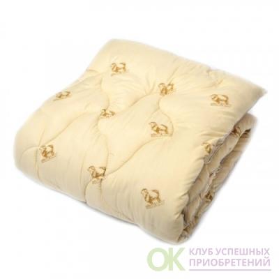 Одеяло Овечья шерсть 300 гр/м2 чехол хлопок 172/205 см
