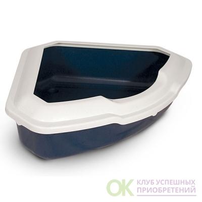 Туалет TRIOL д/кош СТ03 угловой с бортом 56,5*42,5*15см