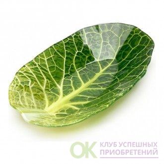 Салатник Leaf Lettuce, 13x23см (арт. 22071323)