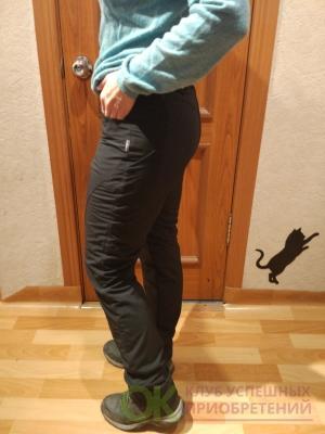 Женские  брюки на флисе плащевка тянется! Артикул: b24С