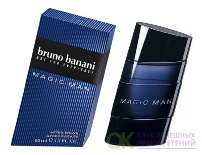 BRUNO BANANI MAGIC men 50ml a/sh