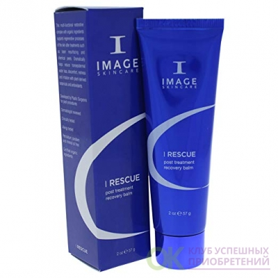 IMAGE Skincare I Rescue Post Treatment Recovery Balm, 2 Oz