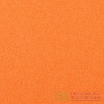 Фетр листовой жесткий IDEAL 1мм 20х30см арт.FLT-H1 цв.645 бл.оранжевый