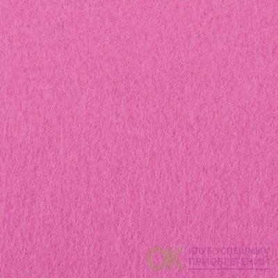 Фетр листовой жесткий IDEAL 1мм 20х30см арт.FLT-H1 цв.614 розовый