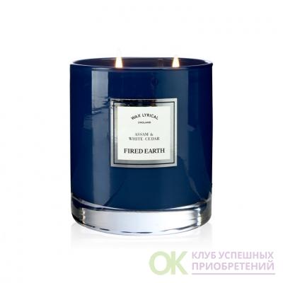 Ассамский чай и белый кедр Wax Lyrical ароматическая свеча бол.