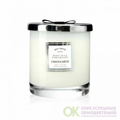 Белый чай и гранат Wax Lyrical ароматическая свеча бол.