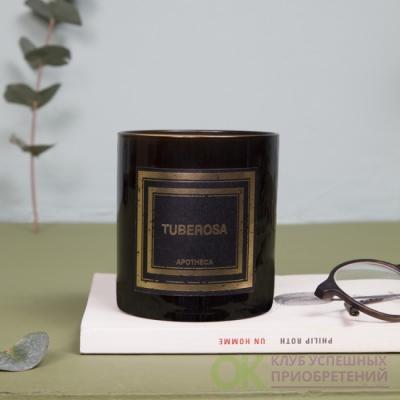 ТУБЕРОЗА / TUBEROSA Парфюмированная свеча  в подарочной коробке, вес - 240 гр, время горения -50-60  часов