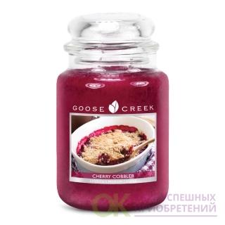 CHERRY COBBLER/ ВИШНЕВЫЙ ПИРОГ (Такой богатый, такой милый... прекрасный вишневый пирог. Таким образом, вы можете почувствовать запах каждого отдельного слоя... даже маслянистую многослойную корочку.)