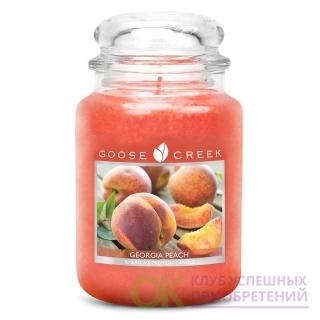 GEORGIA PEACH/ ГРУЗИНСКИЙ ПЕРСИК (Золотое солнце согревает вашу кожу, когда вы путешествуете по саду. Легкий летний дождь смывает сочные летние персики.)