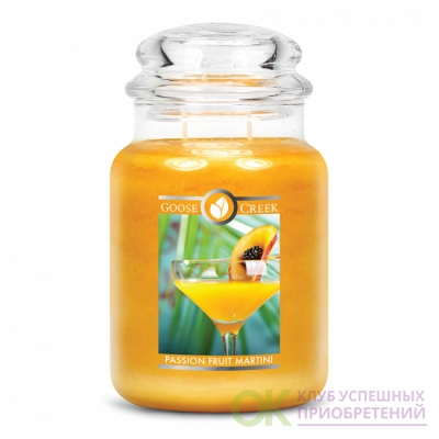 PASSIONFRUIT MARTINI / МАРТИНИ С МАРАКУЙЕЙ (Пьянящий аромат свежих летних фруктов и островного свежего мартини.)