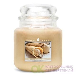 PEANUT BUTTER SUGAR/ АРАХИСОВОЕ МАСЛО С САХАРОМ (сливочное масло из арахиса заправляется в сладкий ванильный вафельный конус для создания этого богатого, восхитительного угощения)