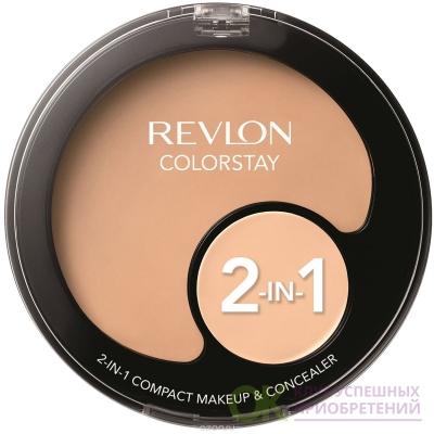 Revlon tester Colorstay 2в1 Compact Makeup & Concealer Тональная основа + консилер 2в1 №110
