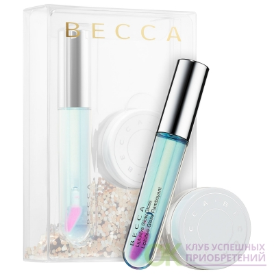BECCA Chill & Glow Setting Powder & Lip Gloss Duo