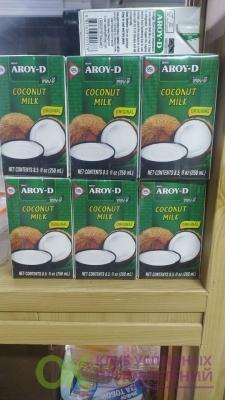 ВАУ!!! Кокосовое молоко Aroy-D, 250мл