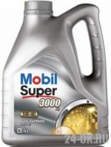 MOBIL SUPER 3000 X1 5w40  4 л (масло синтетическое)