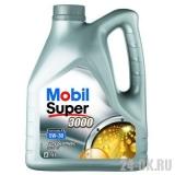 MOBIL SUPER 3000 Х1 Formula FE 5w30  4 л (масло синтетическое)
