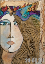Алфавитная книга Paperblanks Soul & Tears, PB2201-5