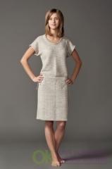 Платье льняное 14-08