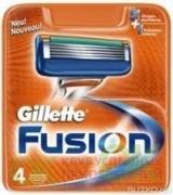 Gillette сменные кассеты Fusion (4)