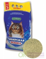 Сибирская Кошка Супер 20кг. комкующийся - 23712