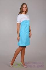 Халат медицинский жен. М-030 ткань Элит-145