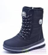 6208-2 Женские ботинки черный