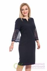 Платье с интересным рукавом, П-481/8 Modellos