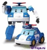 Robocar POLI - Поли трансформер,10 см Take-n-play (Артикул 83166) (арт. 83166)