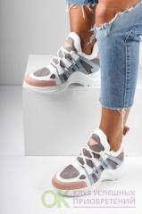 İnan Ayakkabı Beyaz Pudra Kadın Spor Ayakkabı Y2020