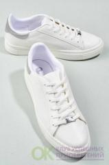 Bambi Beyaz Lame Kadın Sneaker H0606063309