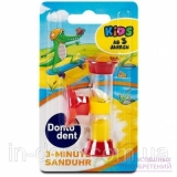 DONTODENT 3-Minuten Sanduhr Песочные часы для детей на 3 минуты, 1 шт. RM411-03496