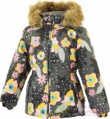 17830030-81948-104 Куртка для девочек MARII, серый с принтом 81948, размер 104