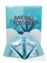 447990штуч.тов Скраб для лица с содой в пирамидках Etude House Baking Powder Crunch Pore Scrub 7 гр (с 1.06.19 г.отпускается только в пачке 24 шт, цена указана за 1 шт)