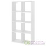 ФРИДЛЕВ Стеллаж, белый, 66x129 см арт 304.579.03