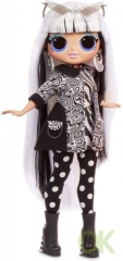 L.O.L Surprise! O.M.G. Lights Groovy Babe Fashion Doll with 15 Surprises