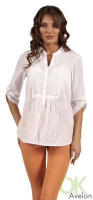 Сшить белую блузку из батиста
